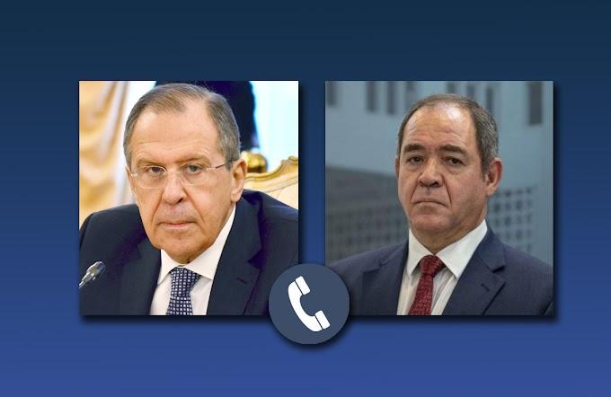 التطورات الأخيرة في الكرگرات محور مباحثات بين وزيري خارجية روسيا والجزائر.