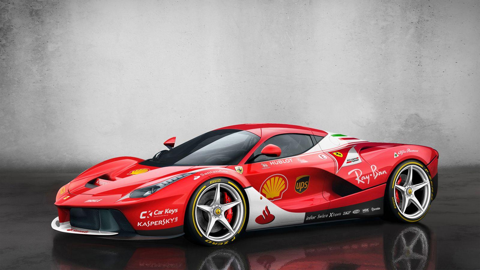Ferrari 458 Challenge Supercar Goes Testing Evo