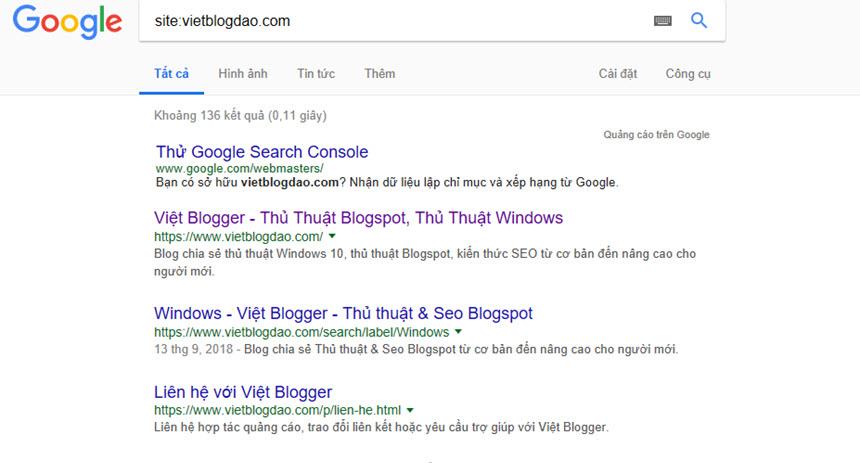 Hướng dẫn xóa và chặn một URL đã được lập chỉ mục trên kết quả tìm kiếm Google