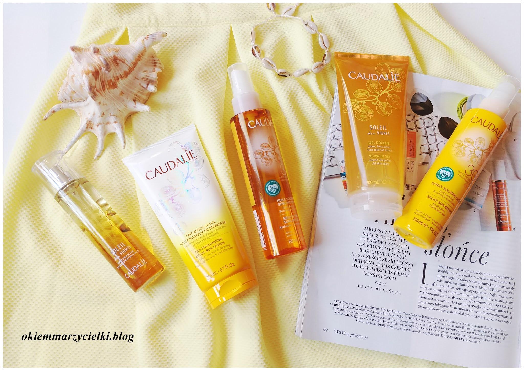 Opalaj się bezpieczne z linią przeciwsłoneczną marki Caudalie Sun Care| Recenzja zbiorcza linii przeciwsłonecznej!