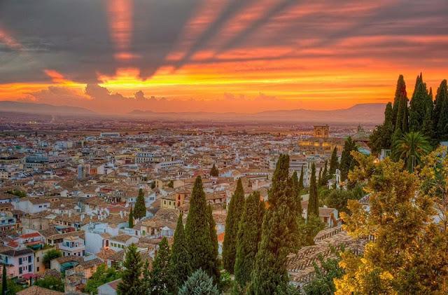 Roteiro de um dia em Granada