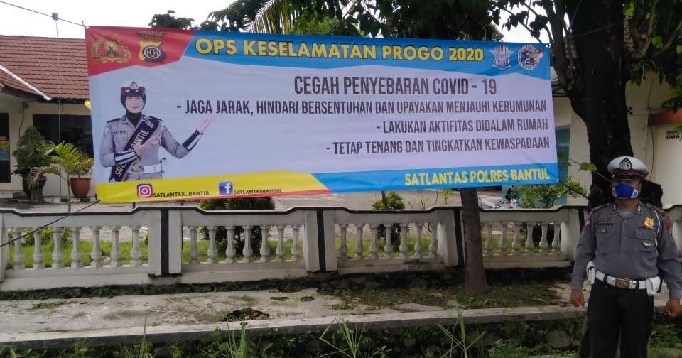 Anggota Polsek Jetis Sosialisasikan Operasi Keselamatan Progo 2020
