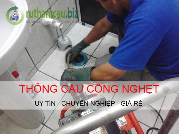 Dịch vụ thông cống nghẹt huyện Hóc Môn giá rẻ uy tín. ĐT: 0904.555.023