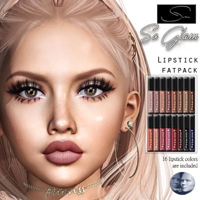 New! So Glam Lipstick @ Stellar
