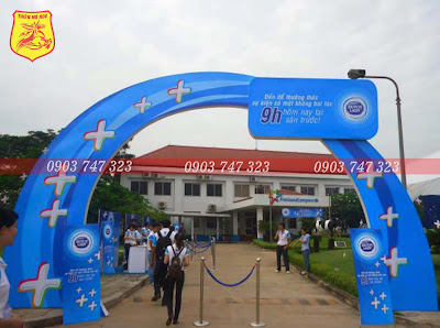 cổng chào lễ hội