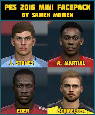 PES 2016 mini facepack by Sameh Momen