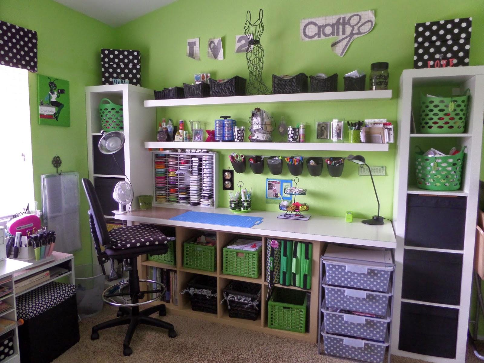 Cricutjunkie Craft Room Makeover Part 1