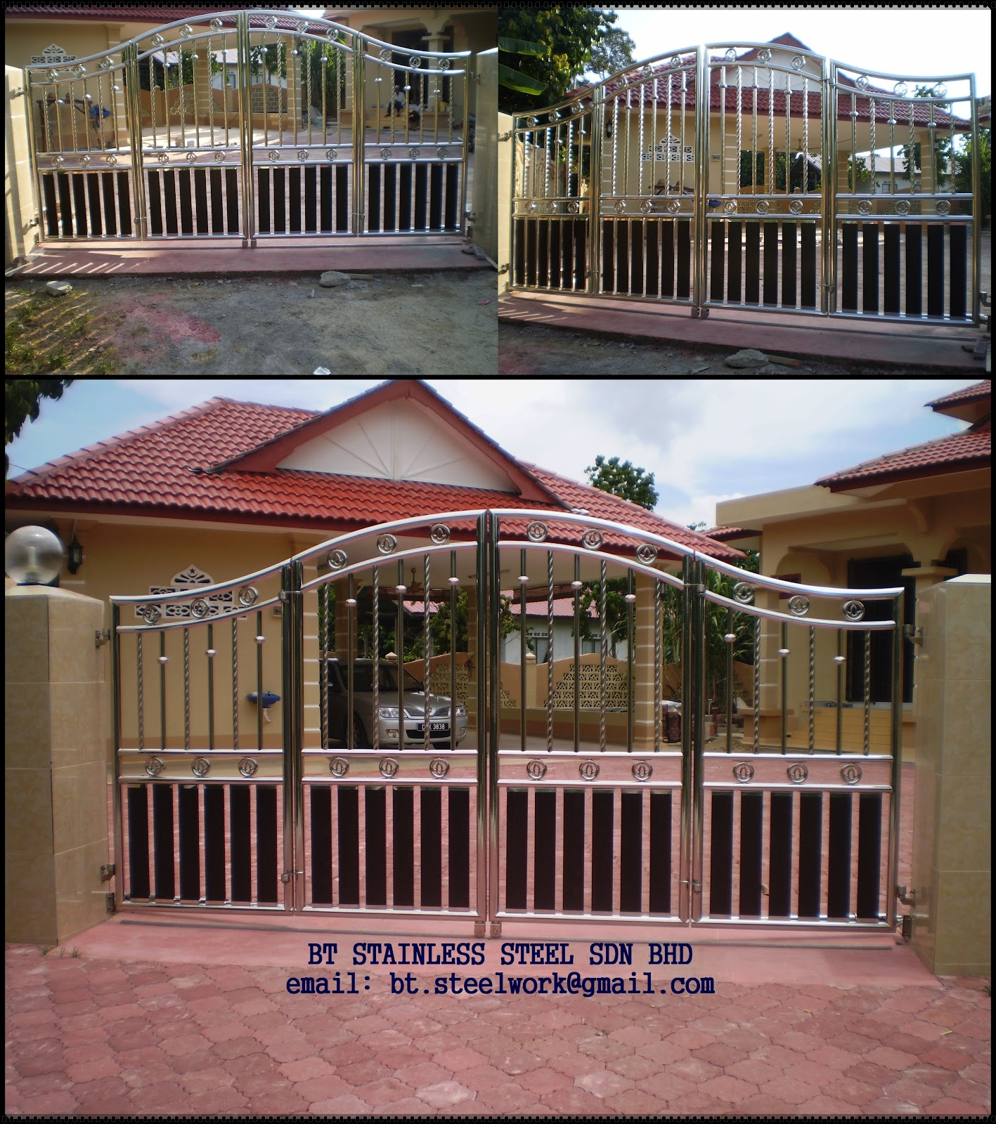BT STAINLESS STEEL SDN BHD: BT STEEL WORK: CONTOH - CONTOH ...