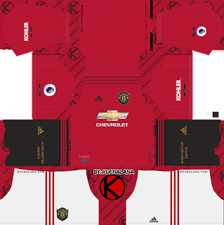 Manchester United 2019/2020 Kit – Dream League Soccer Kits