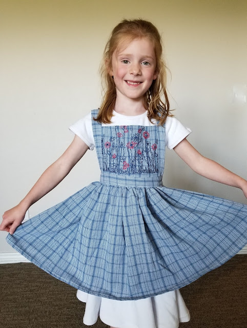 simple pinafore pattern free