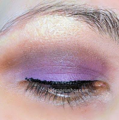 Maquiagem olhos castanhos