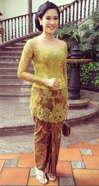 Model Kebaya Wisuda Tanpa Hijab Hijaber Gallery