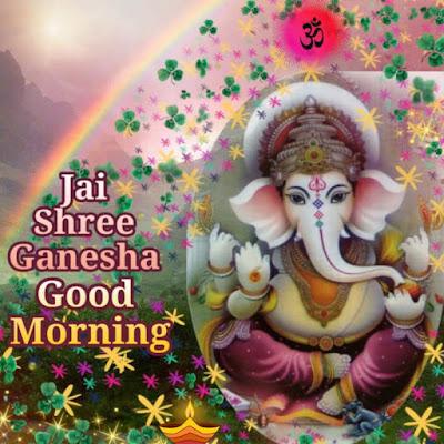 Ganpati Bappa Good Morning Images and Status in English