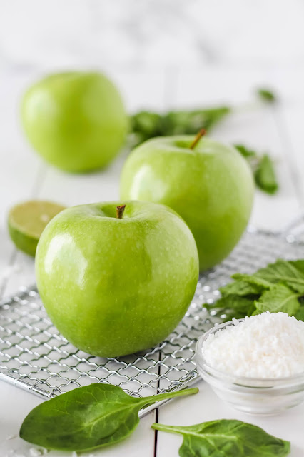 Green Apple Fall Recipe Craft