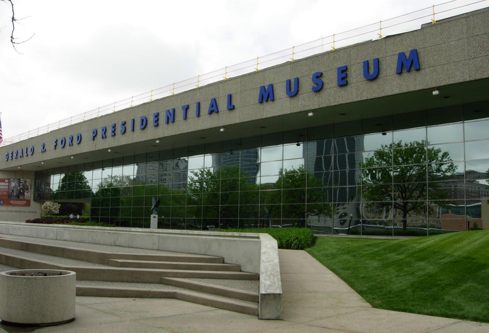 Grand Rapids Ford >> janeandbobandmore: GERALD FORD MUSEUM - GRAND RAPIDS, MI