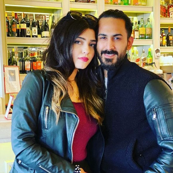 Shan Baig with his Wife Michelle Shan