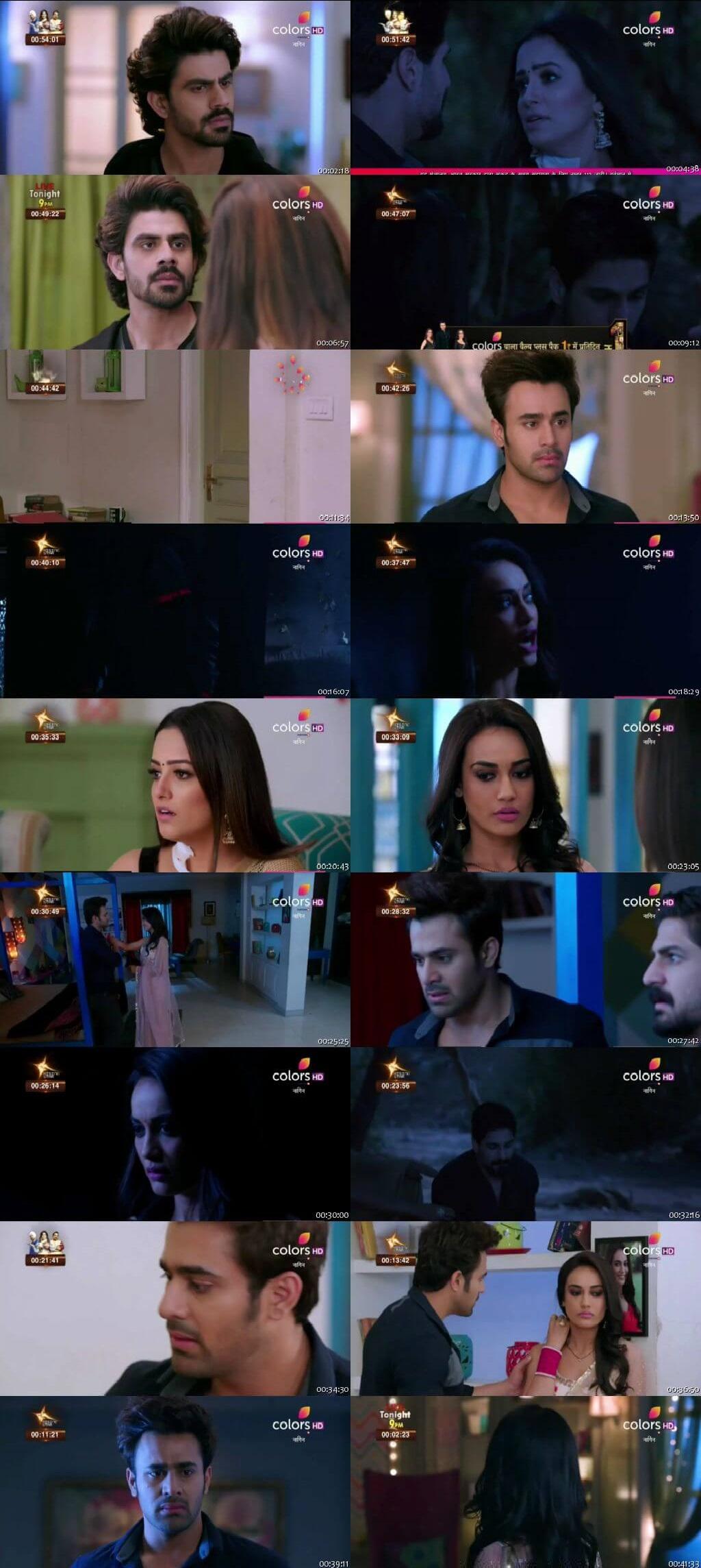 Screenshots Of Hindi Show Naagin Season 3 2019 Episode 82 300MB 480P HD