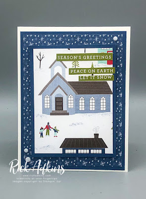 Creative Stampers October 2020 Blog Hop - Coming Home - Rick Adkins