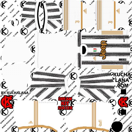 Juventus Adidas Kits 2020/2021 -  DLS20 Kits