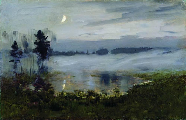 Исаак Ильич Левитан - Туман над водой. 1890-е