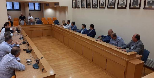 Συνάντηση με τους 17 εκλεγμένους Περιφερειακούς του Συμβούλους είχε ο Παναγιώτης Νίκας