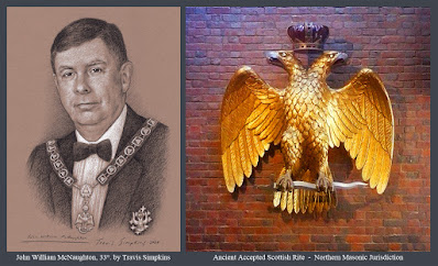 John William McNaughton, 33°. Past Sovereign Grand Commander. Scottish Rite, NMJ. by Travis Simpkins