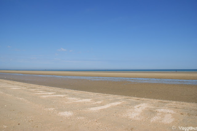 Enorme spiaggia di Utah
