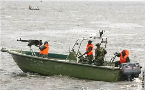 Navy intercepts 649 drums filled with oil in Badagry creeks