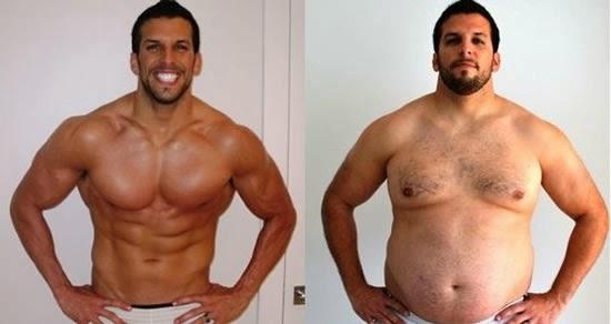 gordos antes y despues de adelgazar bailando