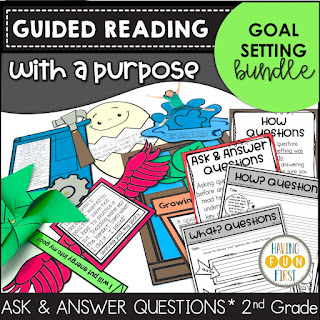 Guided Reading with a Purpose Goal Setting