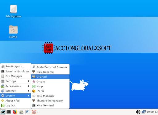 Completo disco de rescate de sistemas basado en Linux