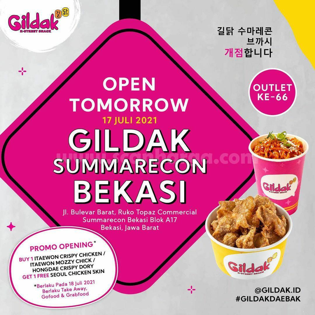 Gildak Summarecon Bekasi Opening Promo Beli 1 Gratis 1
