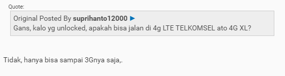 Kenapa Modem Bolt Orion Tidak mendukung jaringan 4G