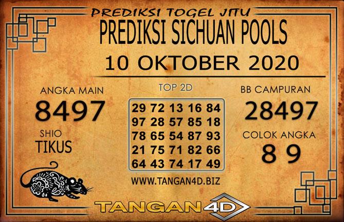 PREDIKSI TOGEL SICHUAN TANGAN4D 10 OKTOBER 2020