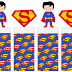 Superman Free Printable Original Nuggets Wrappers.