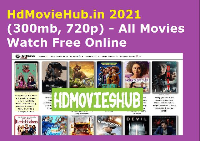 HdMovieHub.in 2021