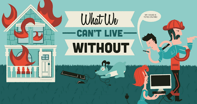 What-We-Cant-Live-Without-Modern-Must-Haves #infographic