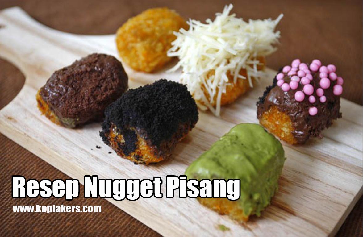 Resep Pisang Nugget Crispy dan Kriuk lezat