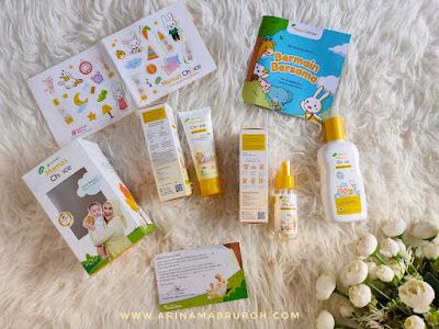 Produk Mama's Choice Irish Bella Baby Essential Kit untuk mendukung bonding time