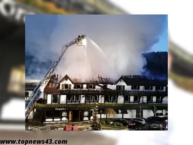 Well-known Three-Star Restaurant Traube Tonbach Burns Down