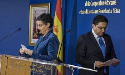 عاجل بيان ناري للمغرب يصعد من خلاله لهجته إتجاه اسبانيا