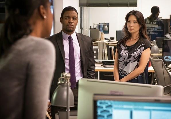 Detective Marcus Bell Joan Watson Elementary Season 3 Episode 4 Bella
