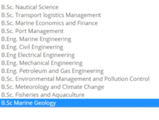 courses offered in Nigerian maritime university