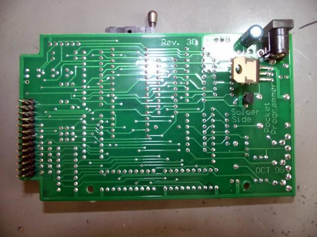 PCB do Programador de EPROm