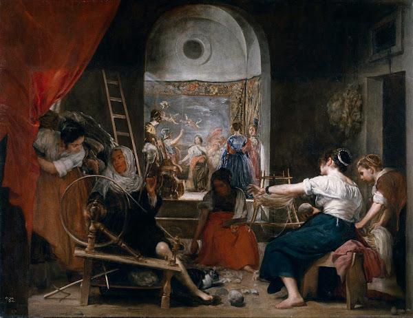 Диего Веласкес - Мастерская гобеленов (ок.1657)