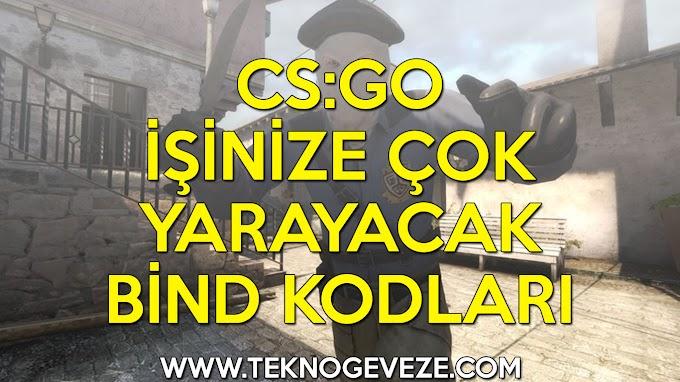 CS:GO İşinize Çok Yarayacak Bind Kodları