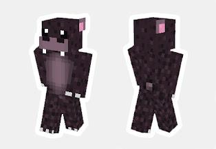 skin de hippo minecraft