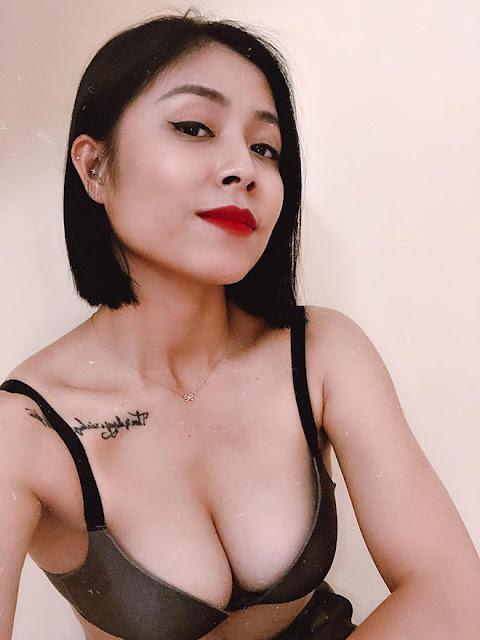 MC Hoàng Linh khoe thân hình sexy ở tuổi 34