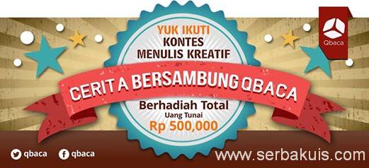 Kontes Sambung Cerita Berhadiah Total 500K