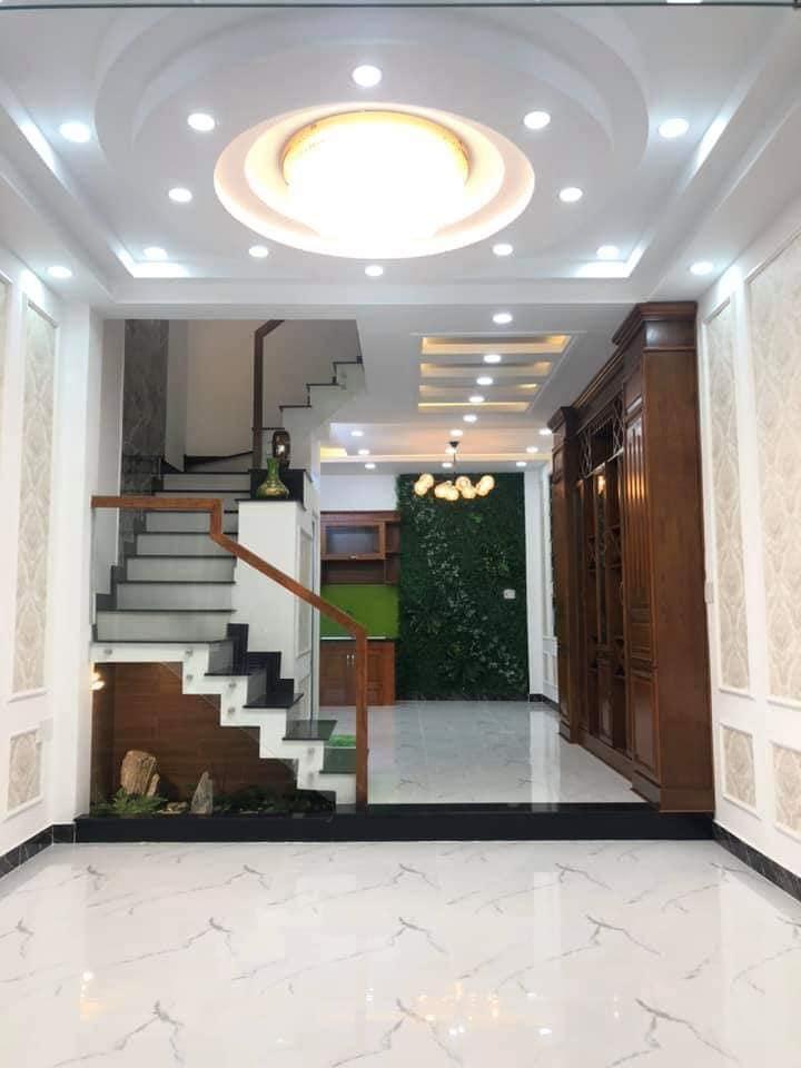 Bán nhà đường Phan Huy Ích quận tân Bình. Nhà 2 lầu mới xây đẹp hiện đại